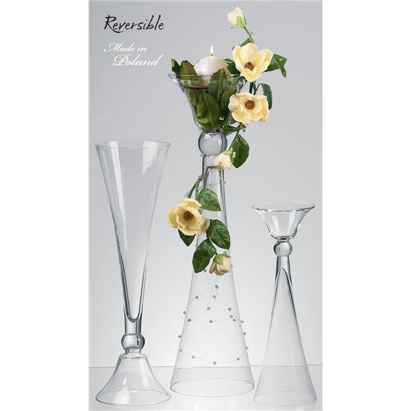 szkla florystyczne, szklane misy