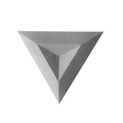 PANEL BETONOWY TRÓJKĄTNY 3D WKLĘSŁY TR1
