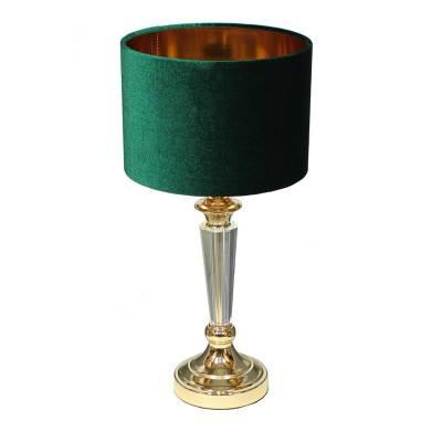 lampa stołowa złota